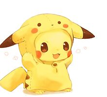 Baby Pikachu by adriyoutube