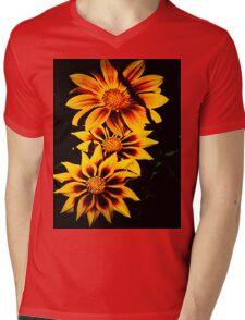 Stunning Flower Mens V-Neck T-Shirt