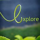 e is for explore by Peace Mitchell