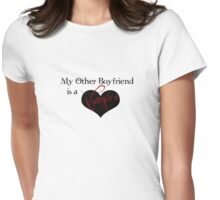 My Other Boyfriend Is A Vampire version 2 Womens Fitted T-Shirt