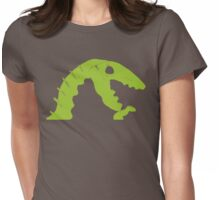 Dino Roar in Green Womens Fitted T-Shirt