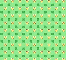 Tigers and Clovers (St. Patrick's Day) by LadyBeemer