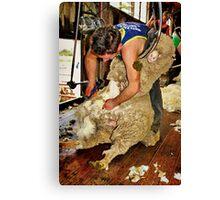 """Silence of The Lamb"" Canvas Print"