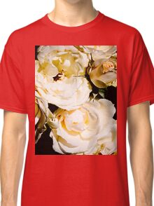 Beautiful White Roses Classic T-Shirt