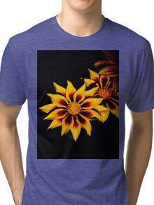 Stunning Flower Tri-blend T-Shirt