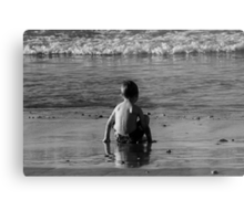 Jacob At The Sea Shore Metal Print