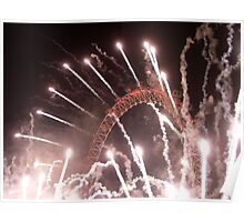 New Years The Eye London - 2007 Poster