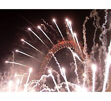 New Years The Eye London - 2007 Photographic Print