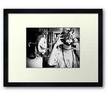 The Rabbit and The... Framed Print