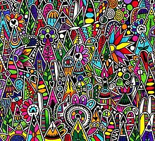 """Colourful Design of """"The Fair"""" by elfinelines"""