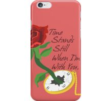 Time Stands Still iPhone Case/Skin