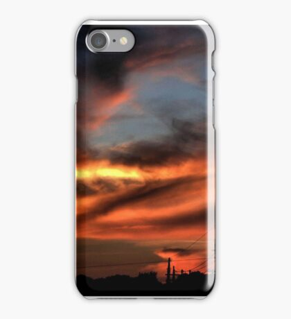 Smoke and Fire iPhone Case/Skin