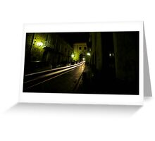 Time Travel Through The Streets Of Sant Agata Greeting Card