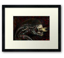 Alien...EnragedShadow Framed Print