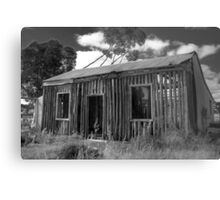 The Slat House Metal Print