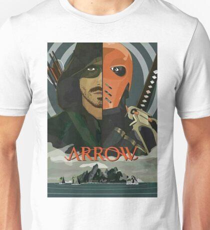 Arrow Arrow Vs. Deathstroke Unisex T-Shirt