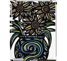 Otiose Flowers Yellow Red Blue iPad Case/Skin