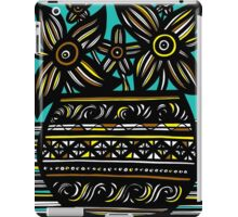 Sangfroid Flowers Yellow Red Blue iPad Case/Skin