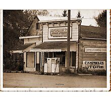 Campbell's General store Photographic Print