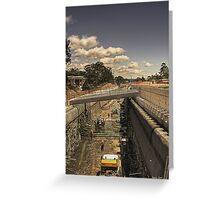 Robina tunnel, an update. Greeting Card