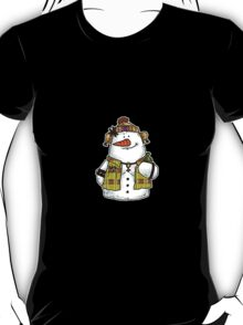 butch snow woman T-Shirt