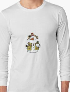 butch snow woman Long Sleeve T-Shirt