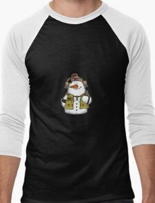 butch snow woman Men's Baseball ¾ T-Shirt