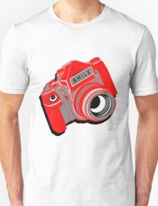 Red Camera T-Shirt