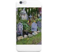 Halloween Garden 2 iPhone Case/Skin