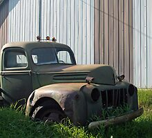 old work truck by tlake