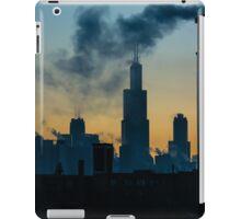 Sears, Smoke, Silhouette iPad Case/Skin