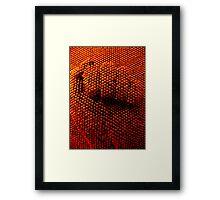 Iron Fist Framed Print