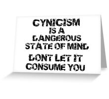 Don't Let it Consume You Greeting Card