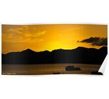 Lanzarote Sunset.... Poster