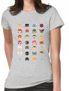 Super Alphabet! Womens Fitted T-Shirt