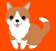 cute corgi pup Kids Clothes