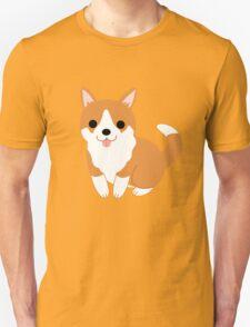cute corgi pup Unisex T-Shirt