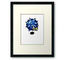 Gonghead Framed Print