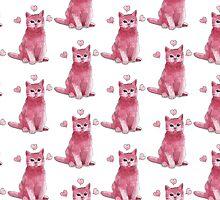 Pink Kitty  by dollyandboo