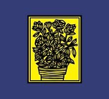 Cavil Flowers Yellow Black Tank Top