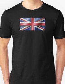 British Union Jack Flag 2 - UK - Metallic Unisex T-Shirt