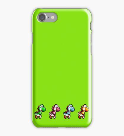 Yoshi pack iPhone Case/Skin