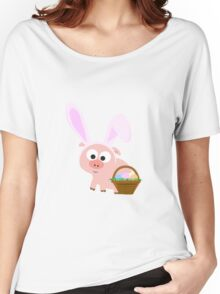 Easter Pig Women's Relaxed Fit T-Shirt