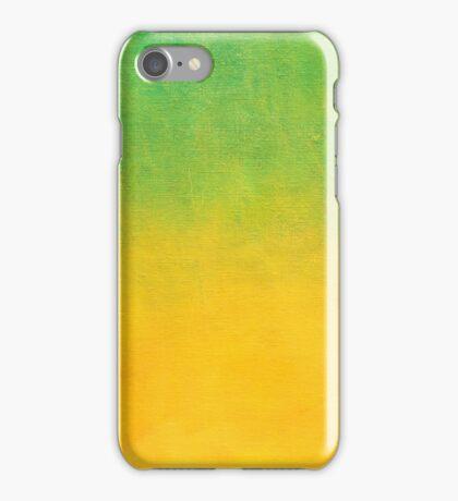 Lemon Lime Gradient iPhone Case/Skin