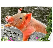 ~ PENNY PIG ~ Poster