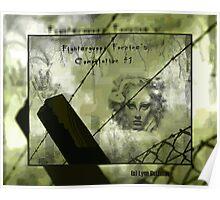 Medusa Looks down Poster