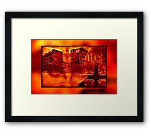 The Price of War Framed Print