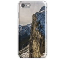 Mount Yamnuska iPhone Case/Skin
