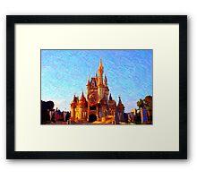 Golden Kingdom Framed Print