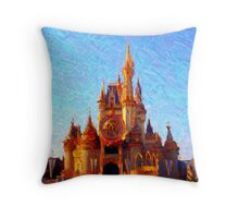 Golden Kingdom Throw Pillow